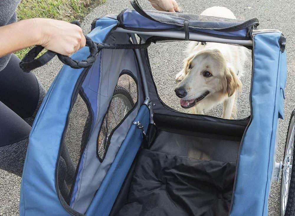 Hunde Fahrradanhänger für E-bikes