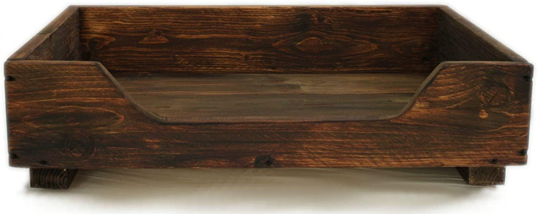 Dekorie67 Hundebett Holz