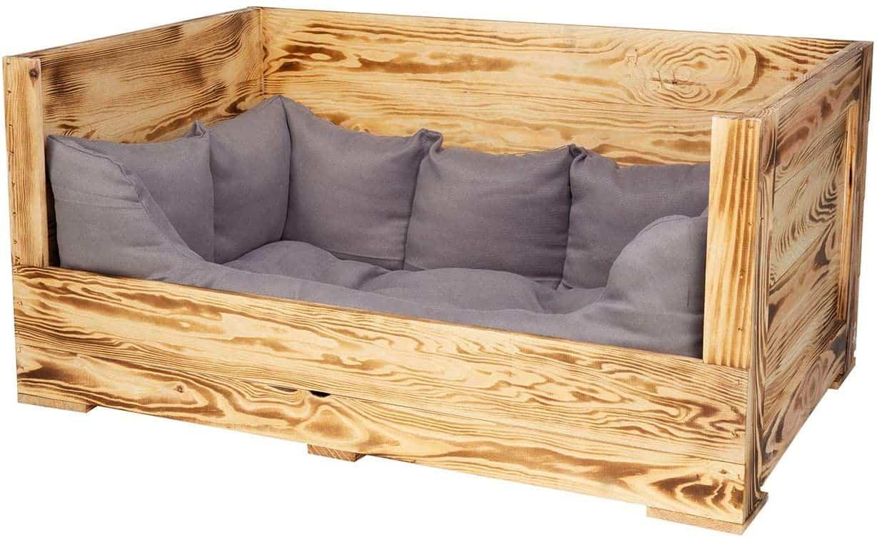 Vintagemöbel 24 Hundebett aus Holz