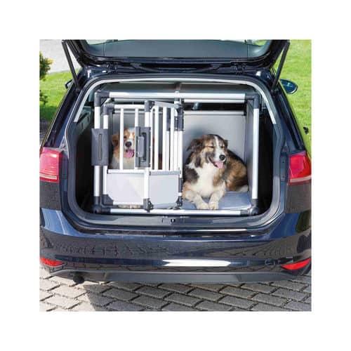 Hundtransportbox Alu